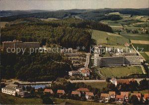 Bad Driburg Sanatorium Berlin BfA Fachklinik Rosenberg LVA Fliegeraufnahme Kat. Bad Driburg