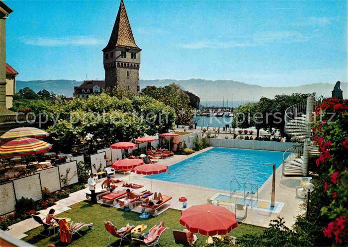 Lindau Bodensee Hotel Bayrischer Hof Hotelschwimmbad Kat Lindau