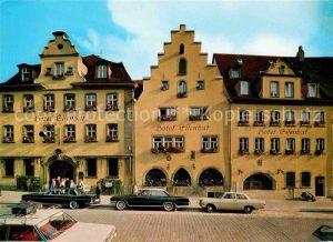 Rothenburg Tauber Hotel Eisenhut Kat. Rothenburg ob der Tauber