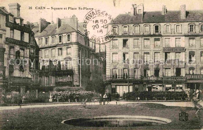 Caen Square Place Saint Pierre Kat. Caen