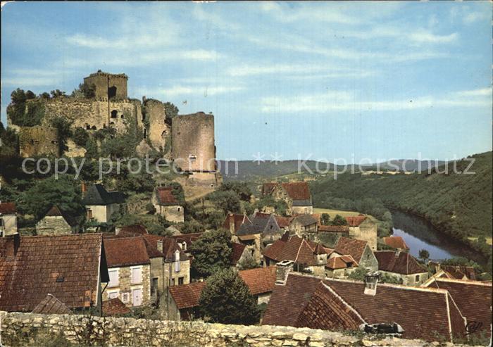 Castelnaud la Chapelle Chateau de Castelnaud Kat. Castelnaud la Chapelle
