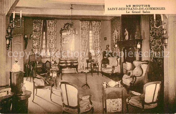 Saint Bertrand de Comminges Le Moutier Grand Salon Kat. Saint Bertrand de Comminges
