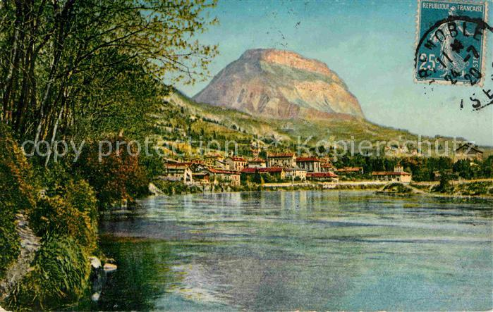 Grenoble La Tronche et le Saint Eynard Kat. Grenoble
