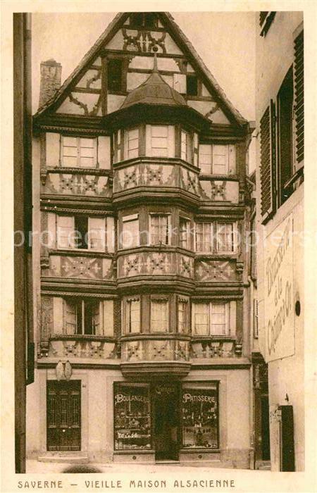 Ak strasbourg une auberge alsacienne dans la vieille for Auberge de la vieille maison