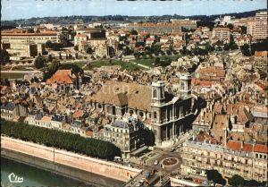 Besancon Doubs Fliegeraufnahme avec Eglise de la Madeleine Place Jouffroy Kat. Besancon