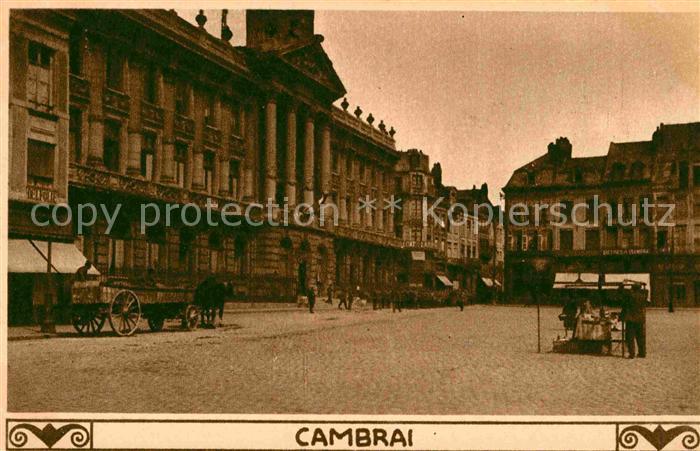 Cambrai Marktplatz Kat. Cambrai