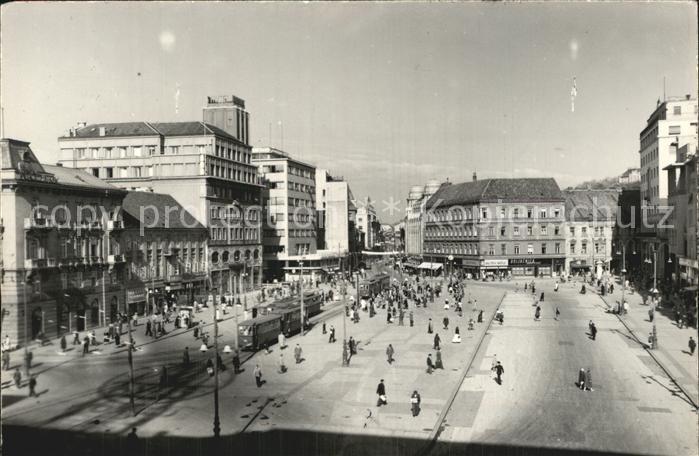 Zagreb Innenstadt Platz Kat. Zagreb