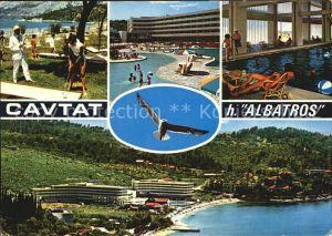 Cavtat Dalmatien Hotel Albatros Gesamtansicht Pool Minigolf Kat. Kroatien