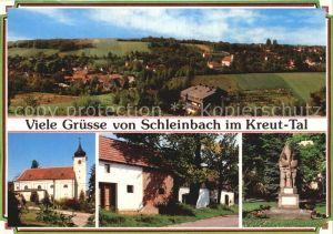 Schleinbach Pfarrkirche Kellergasse Kriegerdenkmal Kat. Mistelbach