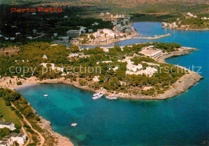 Porto Petro Fliegeraufnahme Kat. Mallorca Nr. kv53068 - oldthing: Ansichtskarten Europa Spanien ...