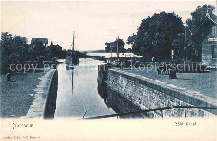 Schweden Norsholm Goeta Kanal