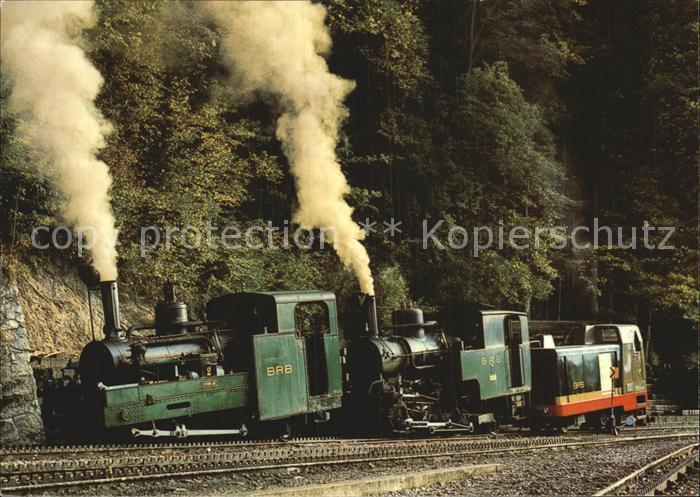 Brienz Rothornbahn Lok 2 Lok 7 Lok 9 Kat. Eisenbahn