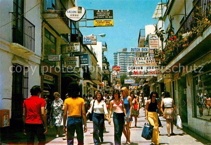 Torremolinos Calle San Miguel Kat. Malaga Costa del Sol