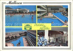 Puerto de Alcudia Hotel Paraiso de Alcudia Poollandschaft Kat. Alcudia Mallorca