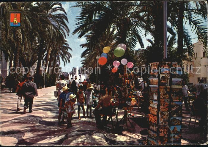 Alicante Explanada de Espana  Kat. Alicante