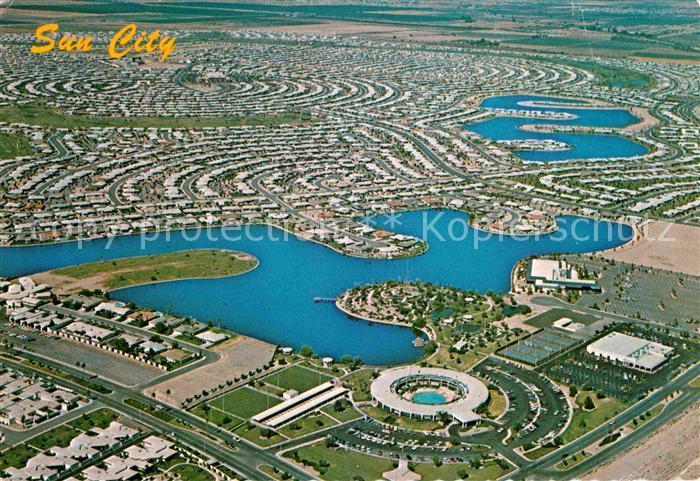 Sun City Arizona Fliegeraufnahme Kat. Sun City