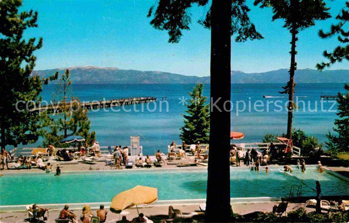 Lake Tahoe California Bathing at a Lake Side Resort Kat. Lake Tahoe 0