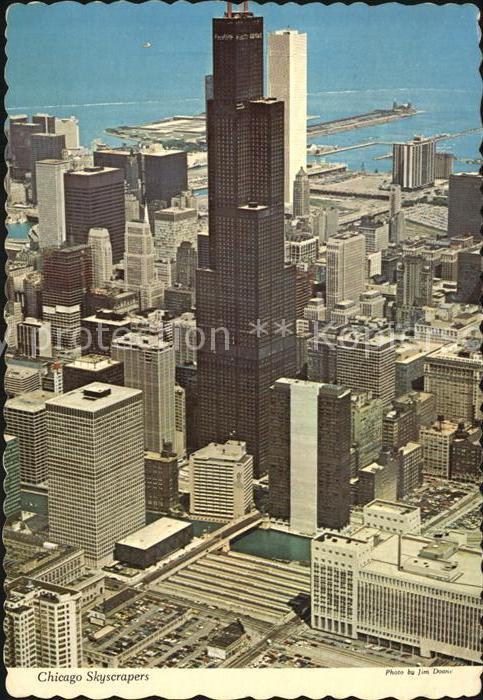 Chicago Illinois Skyscrapers  Kat. Chicago