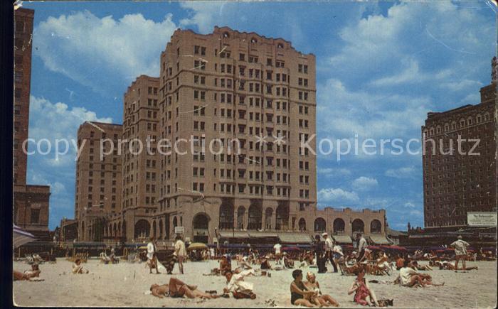Atlantic City New Jersey Ambassador Hotel  Kat. Atlantic City