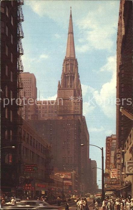 Chicago Illinois Chicago Temple Building  Kat. Chicago