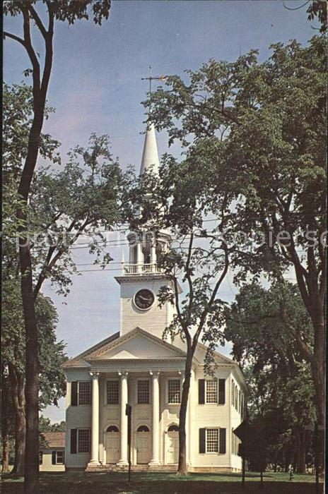 Litchfield Connecticut Congregational Church Kat. Litchfield