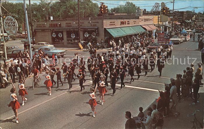 Hazel Park Jr High School Band Memorial Day Parade 66 Kat. Hazel Park