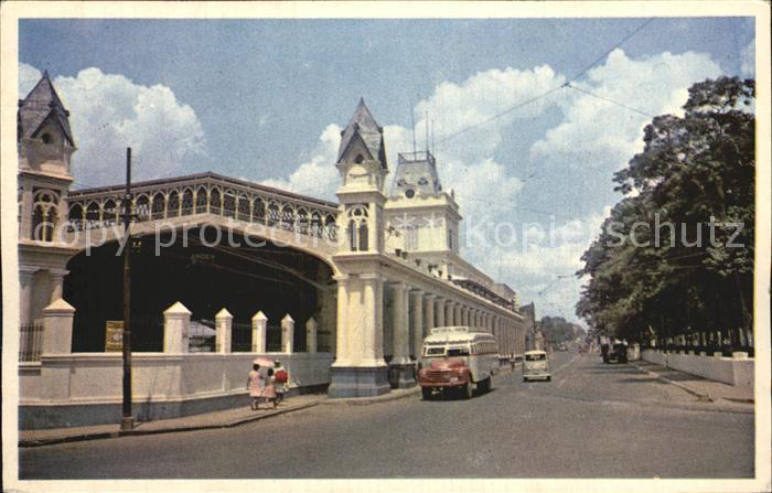 Asuncion Estacion del Ferrocarril Central del Paraguay Kat. Asuncion