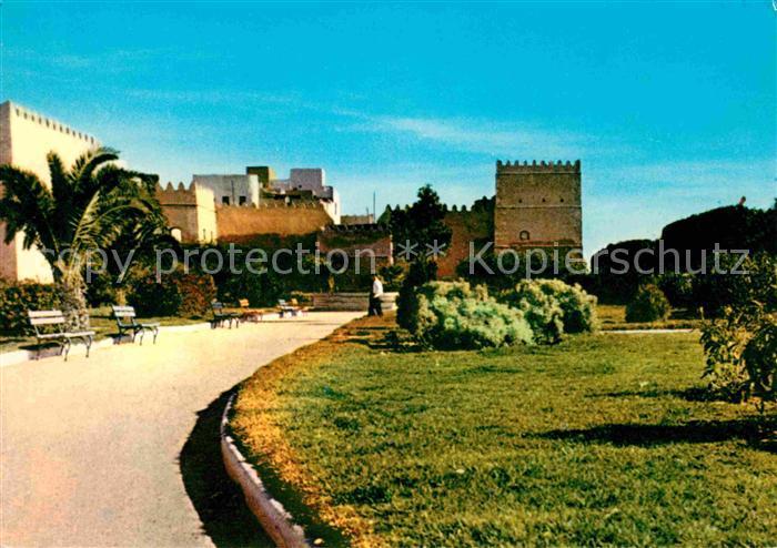 Sfax Jardins au pied des remparts Kat. Tunesien