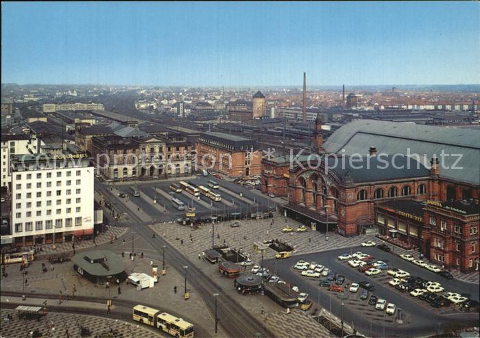 Bahnhof Bremen Hauptbahnhof Bahnhofs Vorplatz Kat. Eisenbahn