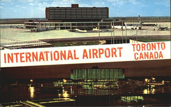 Flughafen Airport Aeroporto Toronto International Airport Aeroquay  Kat. Flug
