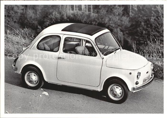 Autos Fiat 500 A 1957 Kat. Autos