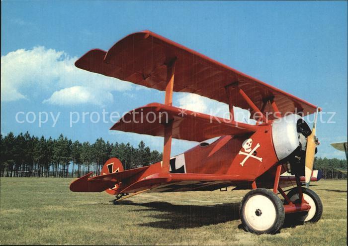Flugzeuge WK1 Fokker Dreidecker 1917 Kat. Militaria Airplanes Avions