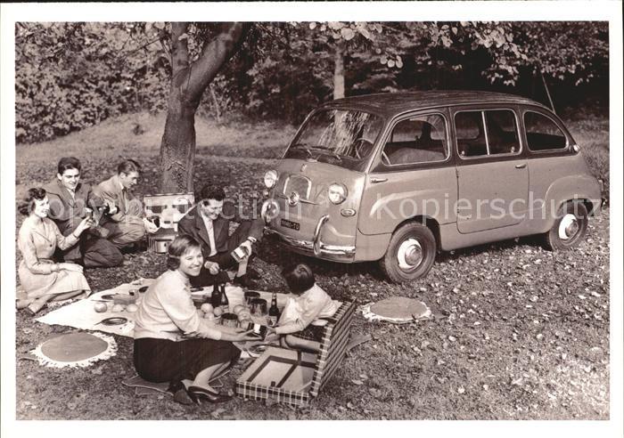 Autos Fiat Multipla 1956 Kat. Autos