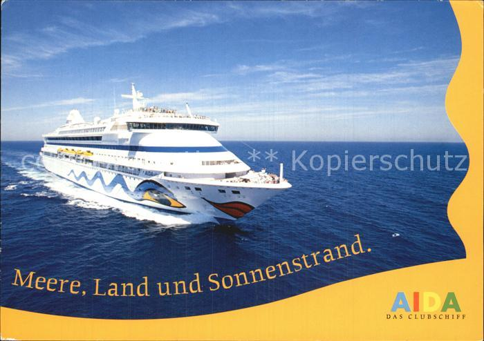 Schiffe AIDA  Kat. Schiffe