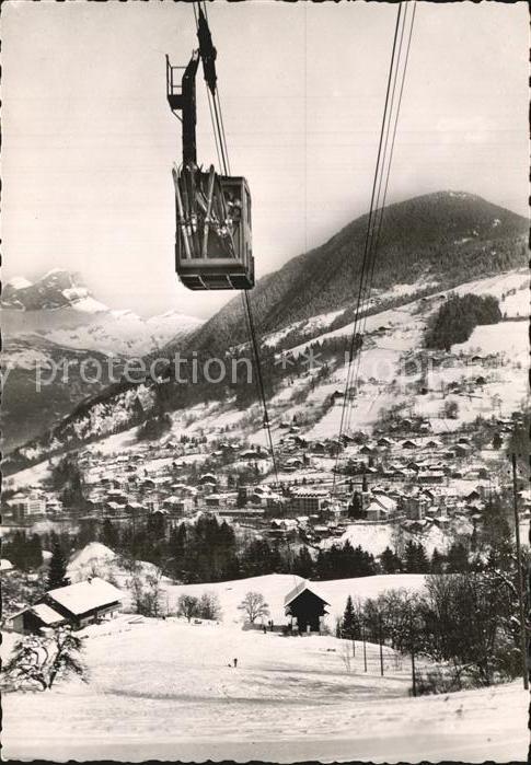Seilbahn Saint Gervais les Bains Rocher des Fiz Tete Noire  Kat. Bahnen