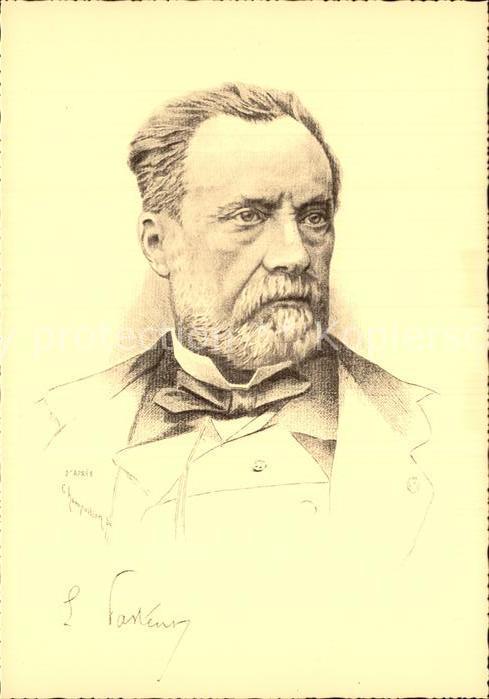 Persoenlichkeiten Louis Pasteur  Kat. Persoenlichkeiten