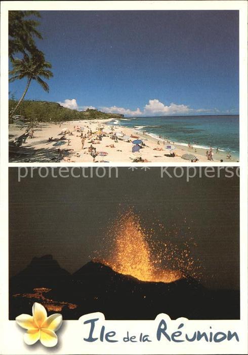 Vulkane Geysire Vulcans Geysers Ile de la Reunion Plage de Boucan  Kat. Natur