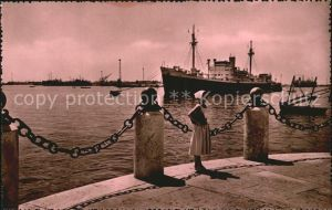 Schiffe Port Said Le Port Hafen  Kat. Schiffe