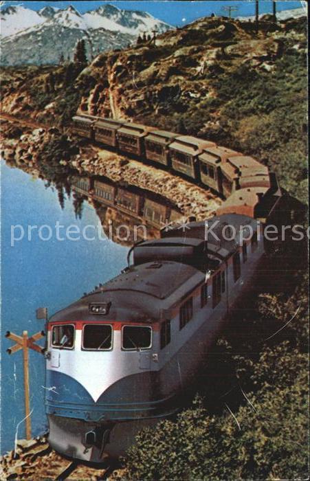 Eisenbahn White Pass Railway  Kat. Eisenbahn