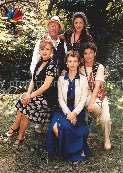 Schauspieler Petra Berndt Toni Berger TV Serie Solange es die Liebe gibt  Kat. Kino und Film
