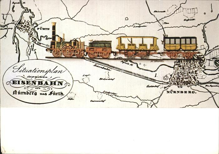 Lokomotive 150 Jahre Eisenbahnen Der Adler  Kat. Eisenbahn