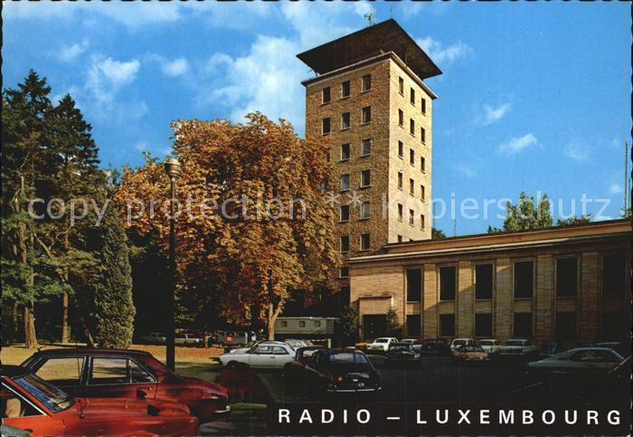 Radio Radio Luxembourg  Kat. Technik