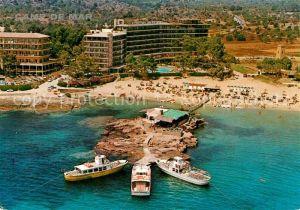 Camp de Mar Hotels Strand Fliegeraufnahme Kat. Andratx Mallorca