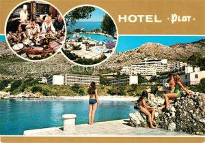 Dubrovnik Ragusa Hotel Plat Restaurant Strand Swimming Pool Kat. Dubrovnik
