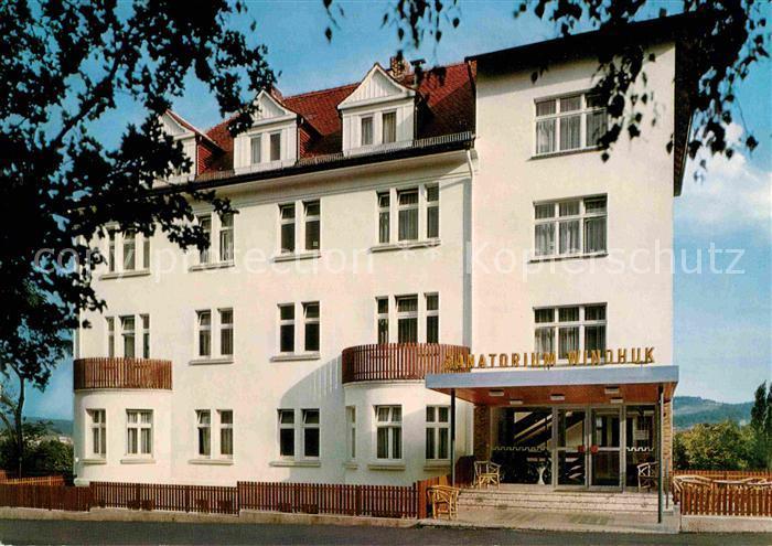 Bad Wildungen Sanatorium Windhuk Kat. Bad Wildungen