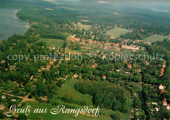 Rangsdorf Fliegeraufnahme Kat. Rangsdorf