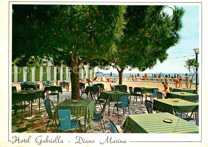 Diano Marina Hotel Gabriella Restaurant Riviera dei Fiori Kat. Italien