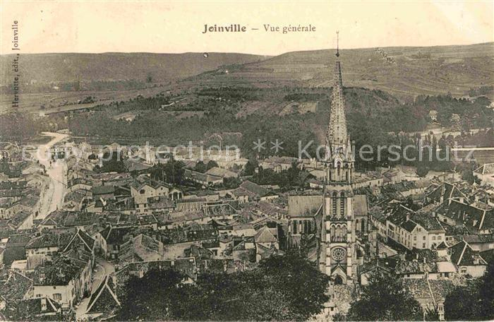 Joinville Haute Marne Panorama Kathedrale Kat. Joinville