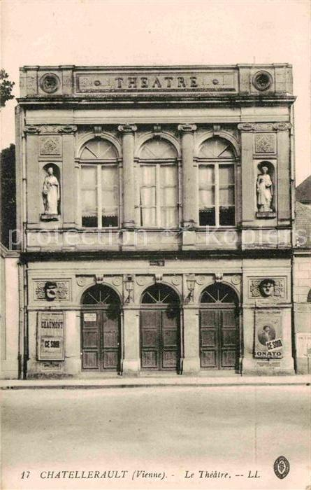 Chatellerault Theater Kat. Chatellerault