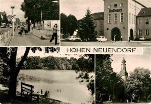 Hohen Neuendorf Rathaus Kat. Hohen Neuendorf
